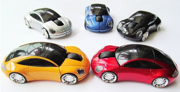 Wireless Mouse Car